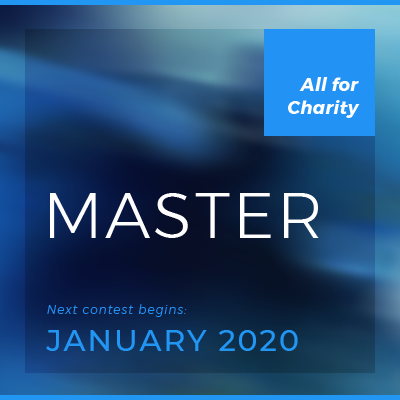 classic contest — master class  Invitation only. Begins in January and runs for one year. Entry fee is $10,000 (all for charity). • Invite only, for master level investors  • Recommend a Master   • See past winners