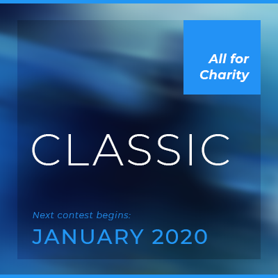 classic contest  The flagship competition. Begins in January and runs for one year. Compete as novice ($100), professional ($1,000), or master (invite-only).  Learn more.