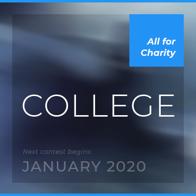 student contest — college  Learn about investing and compete against other colleges. Entry fee is $20 (all for charity).  • Next contest begins: January 2020.  •   Register now   • See list of participating schools   • Be your school's ambassador