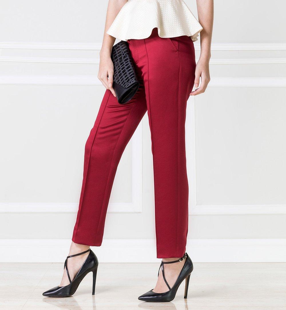 Pantalón Rojo - $55