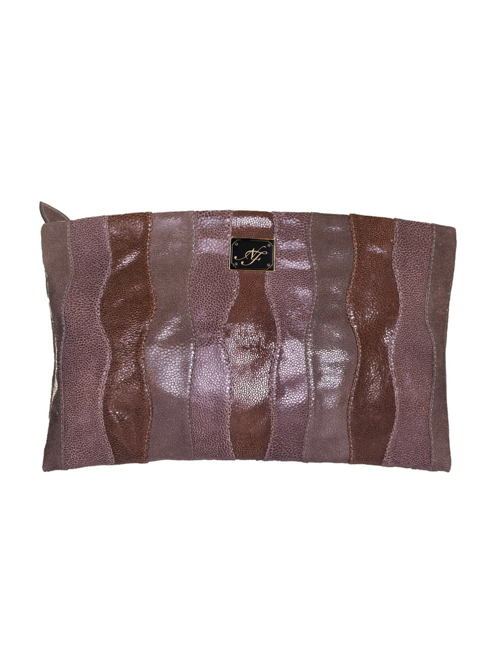 Clutch marrón - $210
