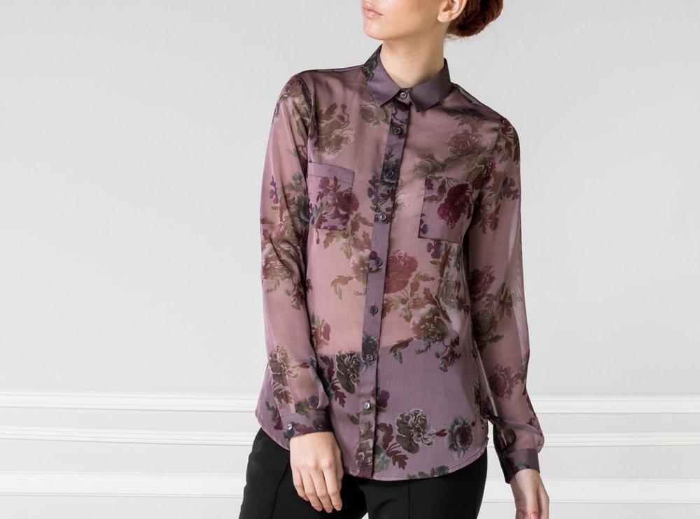 Camisa floreada - €75
