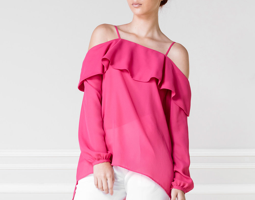 Top OFF-SH fucsia - €50