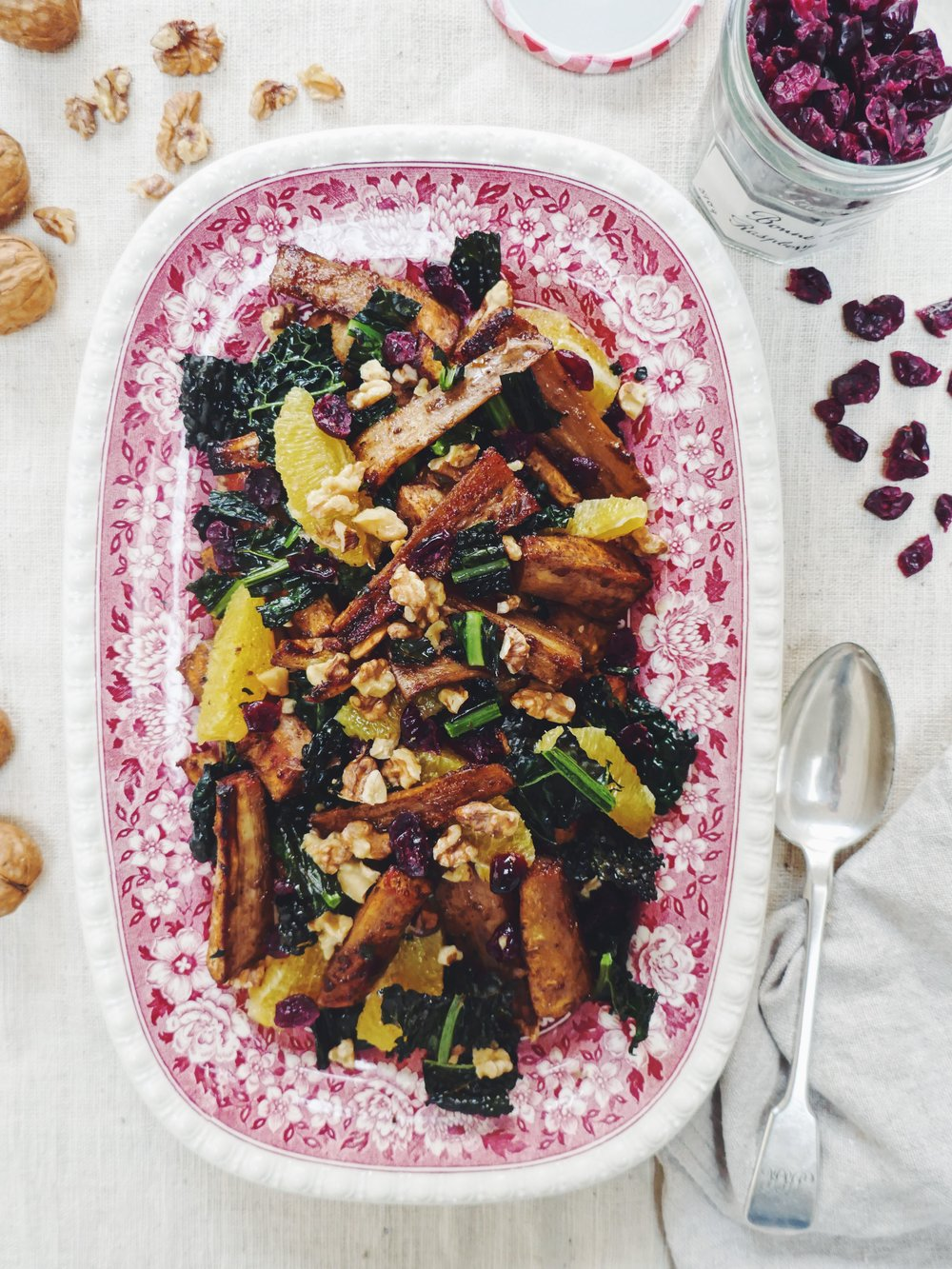 With the a fragrant spice of cardamom and clove this is is the perfect side dish to a Sunday lunch when you fancy something a little more flavourful than your usual roast spuds. It makes delicious leftovers too.
