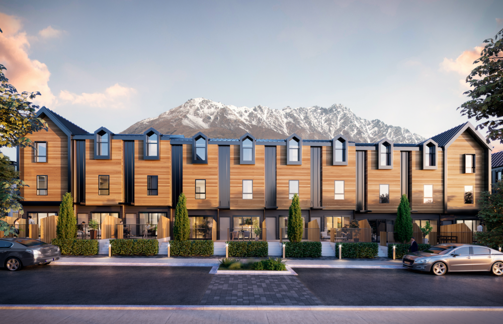 Construction of GYP Properties' residential development, Remarkables Residences, at the foot of The Remarkables mountain range in Queenstown, New Zealand, is currently underway.
