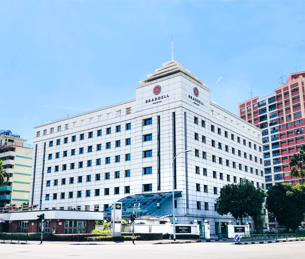 Braddell House is the new name of former Yellow Pages Building. The corporate headquarters of GYP Properties, Braddell House sits above Braddell MRT station, offering convenient transportation connectivity.