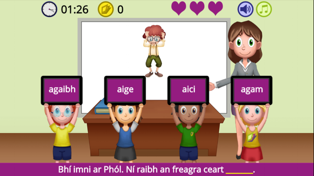 anmuinteoir Irish/Gaelic Language Game
