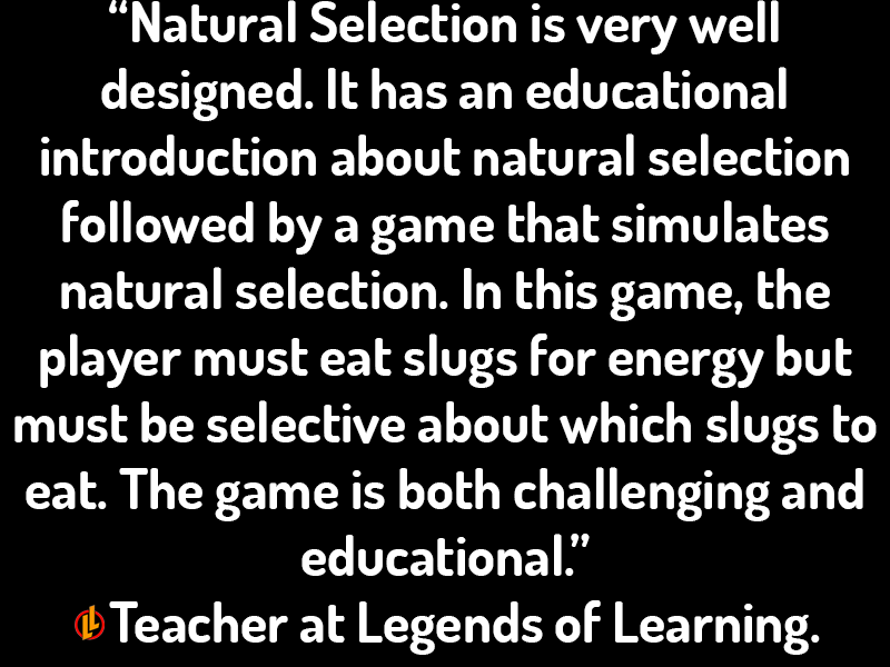 Natural Selection Testimonial