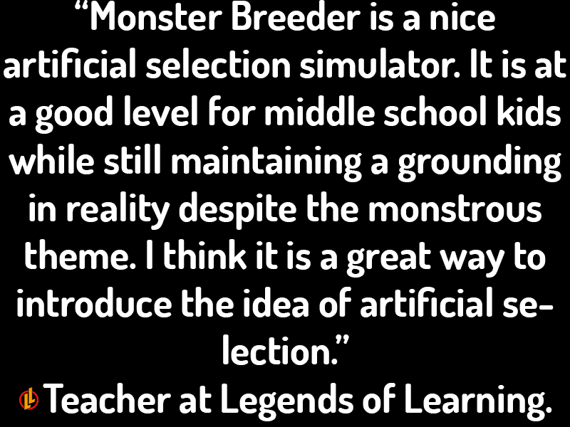 Monster Breeder Testimonial