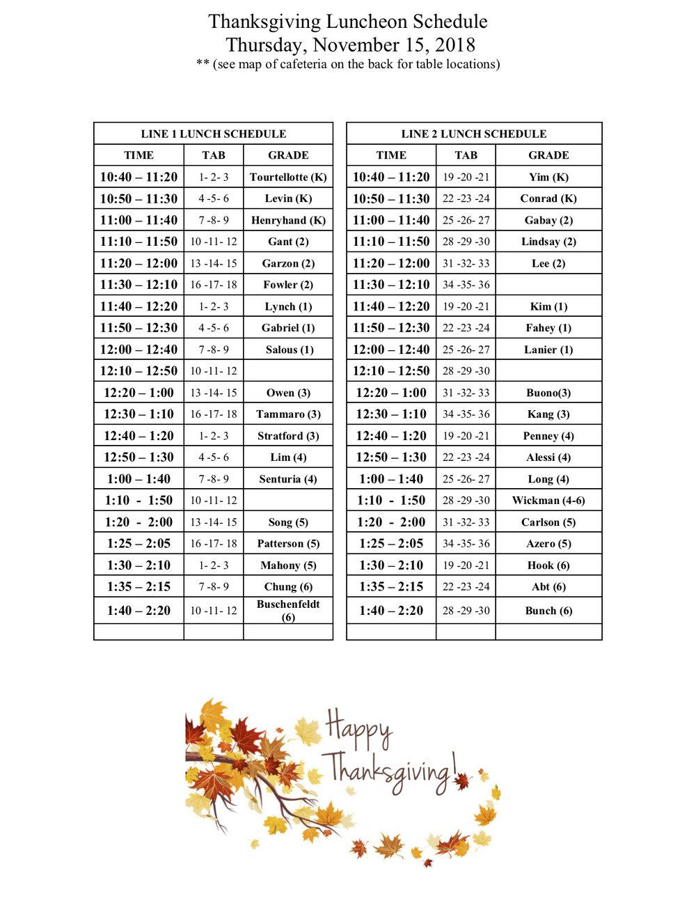 Thanksgiving lunch schedule 2018 FINAL.jpg