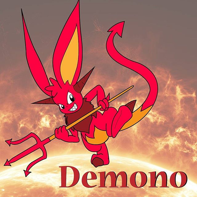 This is Demono the demon bunny! He is the main anchor for the Fek News Studio. He really hates his job as the The Devil's Advocate, but someone's gotta do it until he's replaced. . . . . . . . . . . . . . . . . . . . . . #FekNews #FekNewsHeadlines #Demono #toon #ZuStudio