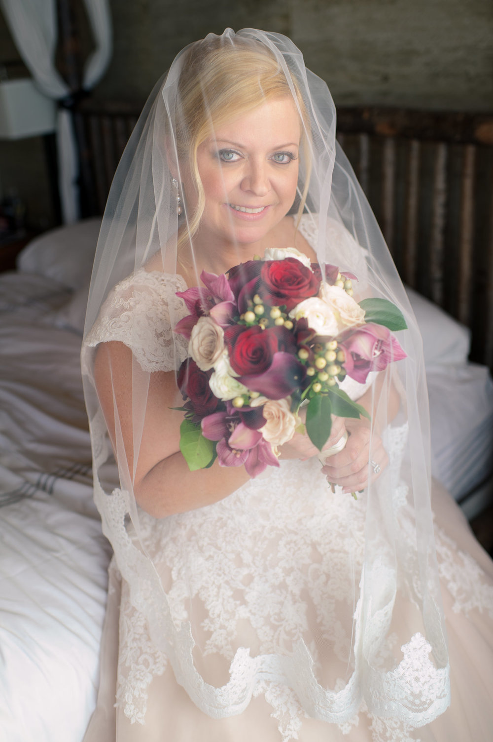 Bridal Portrait at Edgewater Hotel
