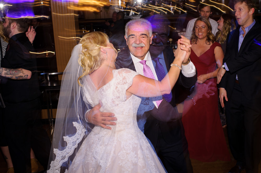 Wedding Guests Dances at Lake Union Cafe