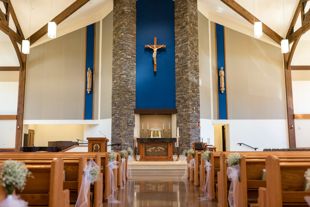 Saint Theresa of Calcutta Wedding Venue Ceremony Details