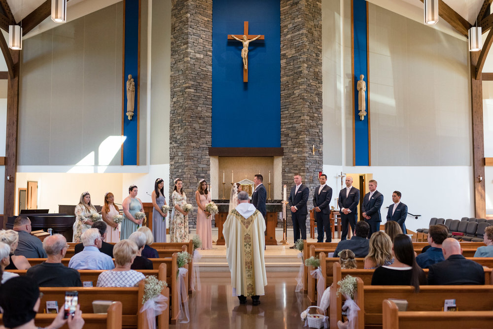 Wedding Ceremony at Saint Theresa of Calcutta