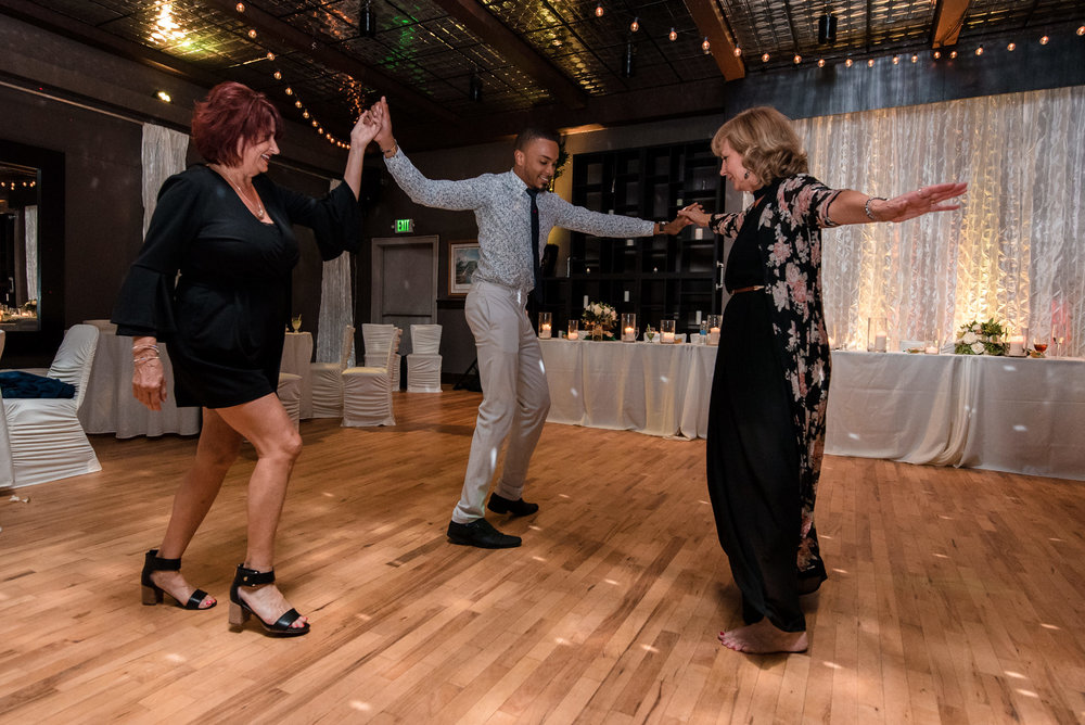 Guests Dance at Wedding