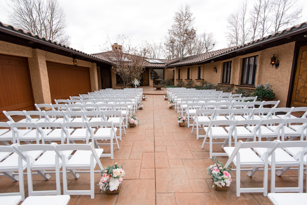Villa Wedding Venue Ceremony Details