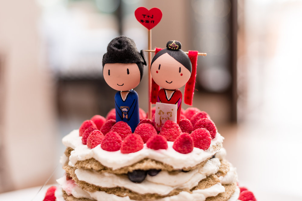 Wedding Cake Topper Details