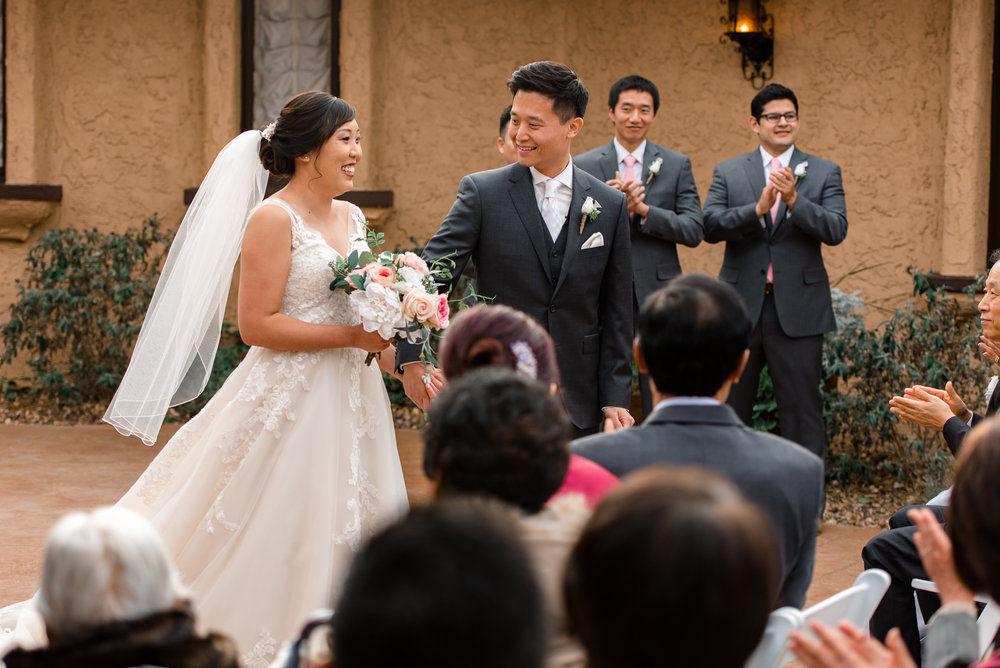 Asian Bride Groom Just Married at Villa Parker