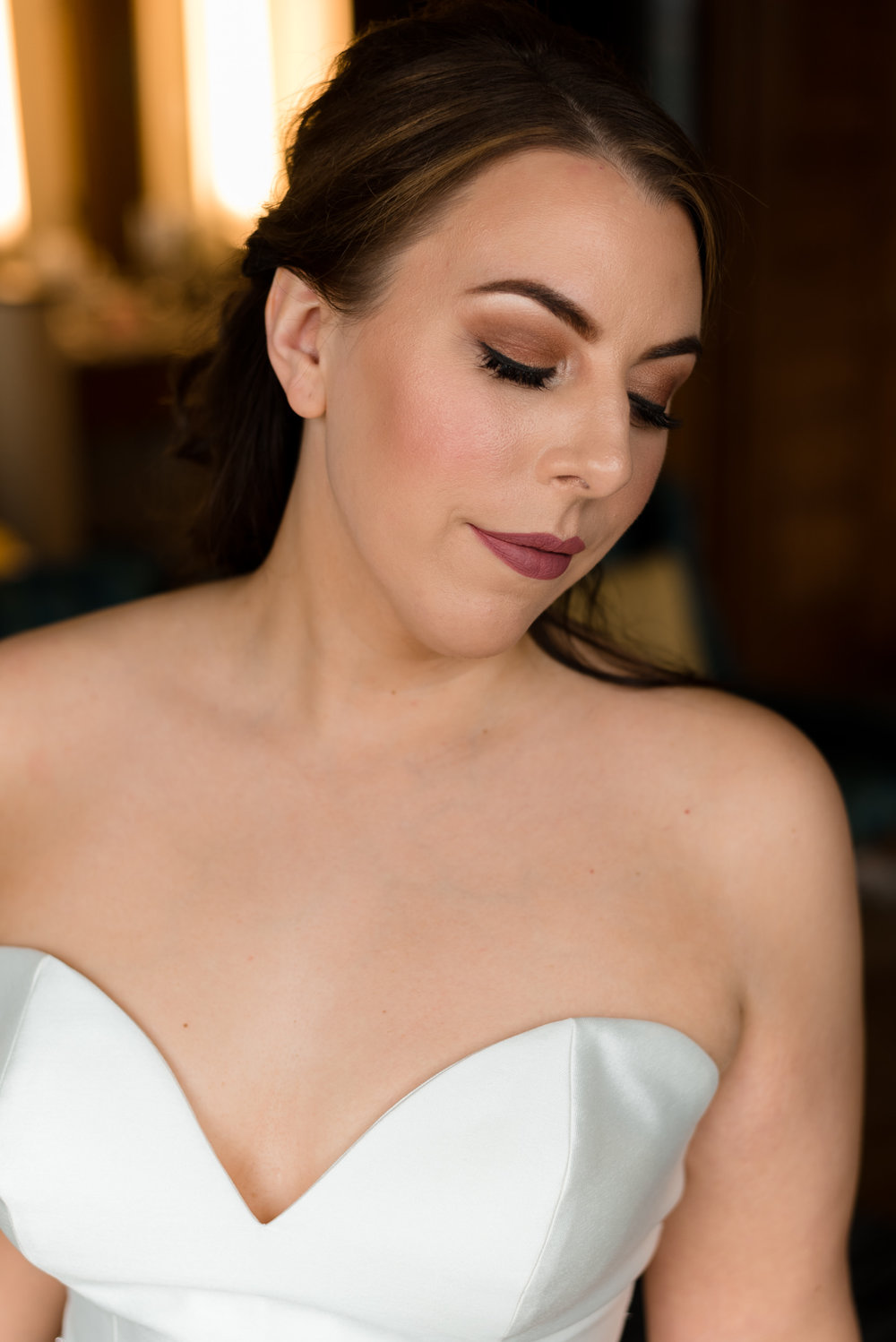Bridal Portrait at Watertown Hotel