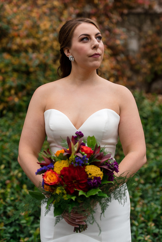 Bridal Portrait at University of Washington