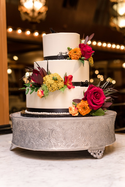Wedding Cake at Lake Union Cafe