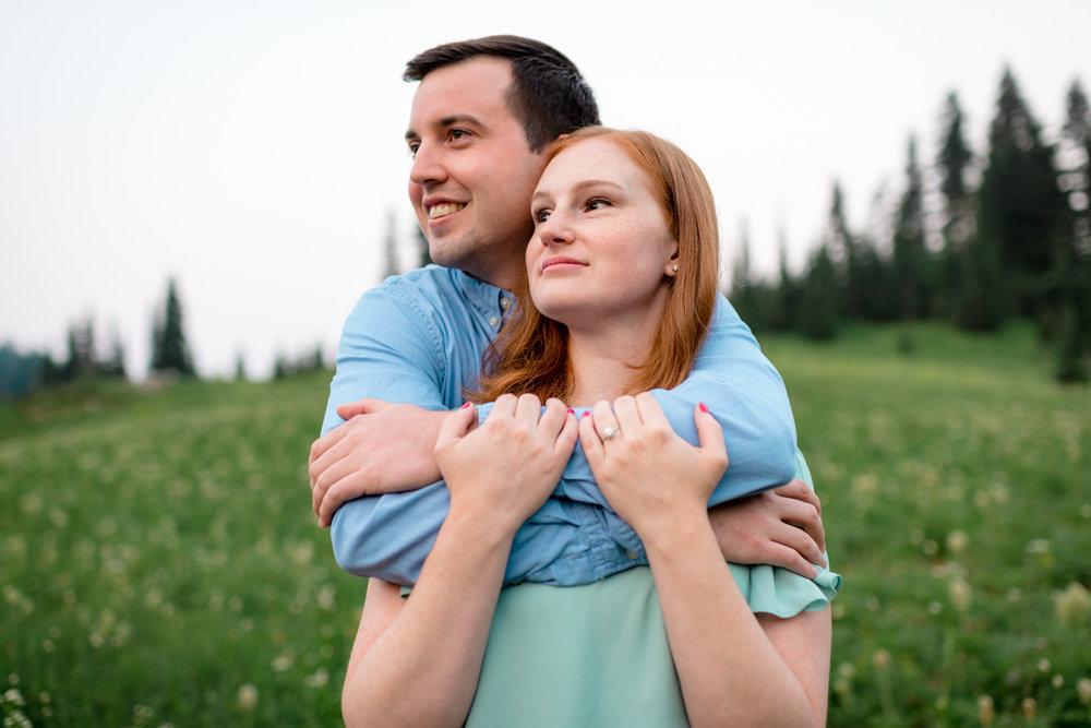 Andrew Tat - Documentary Wedding Photography - Tipsoo Lake - Mount Rainier National Park, Washington - Erin & Robert - 07.JPG