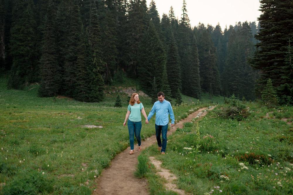 Andrew Tat - Documentary Wedding Photography - Tipsoo Lake - Mount Rainier National Park, Washington - Erin & Robert - 10.JPG