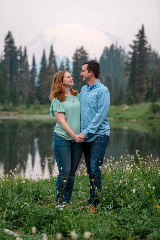 Andrew Tat - Documentary Wedding Photography - Tipsoo Lake - Mount Rainier National Park, Washington - Erin & Robert - 17.JPG