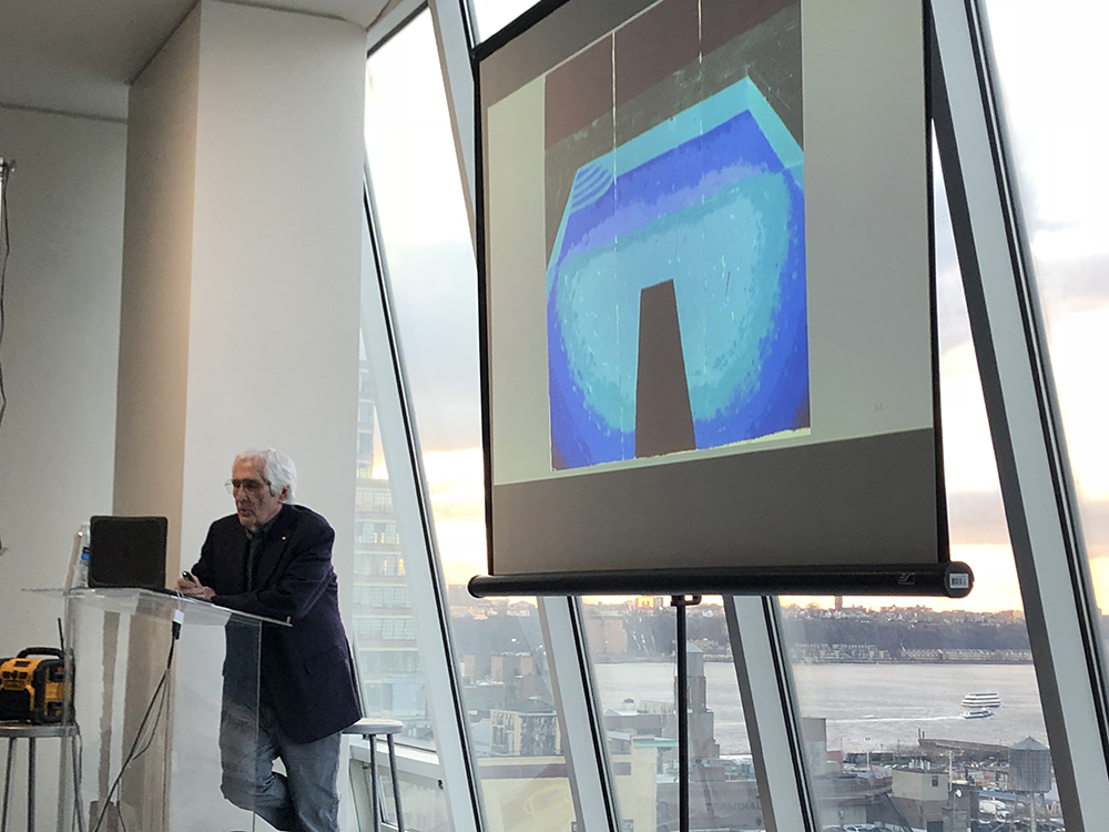 Ken Tyler discussing his collaboration with artist David Hockney