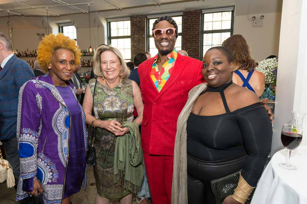 Renee Cox, Anne Coffin, Rahsaan Gandy, Nona Faustine Simmons