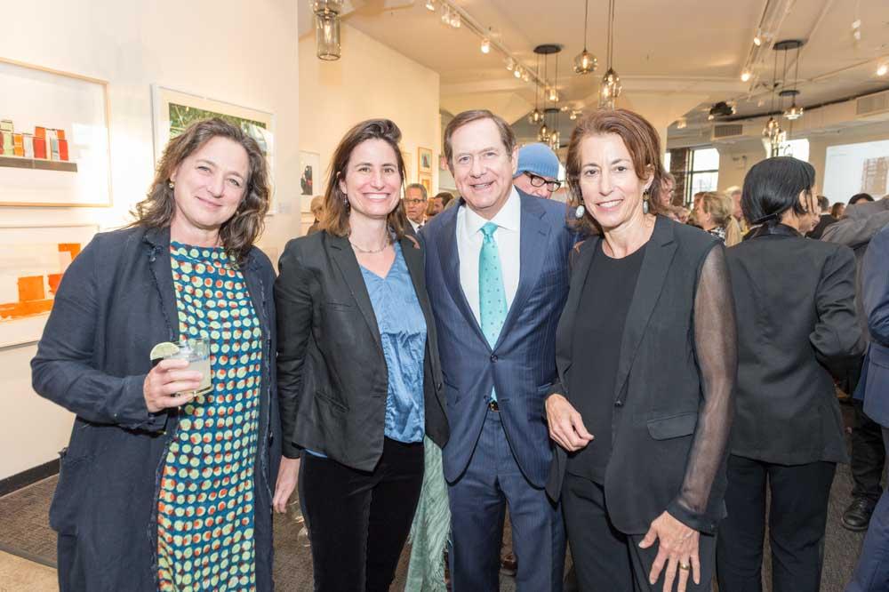 Louise Eastman, Katie Michel, Jordan Schnitzer, Jill Moser