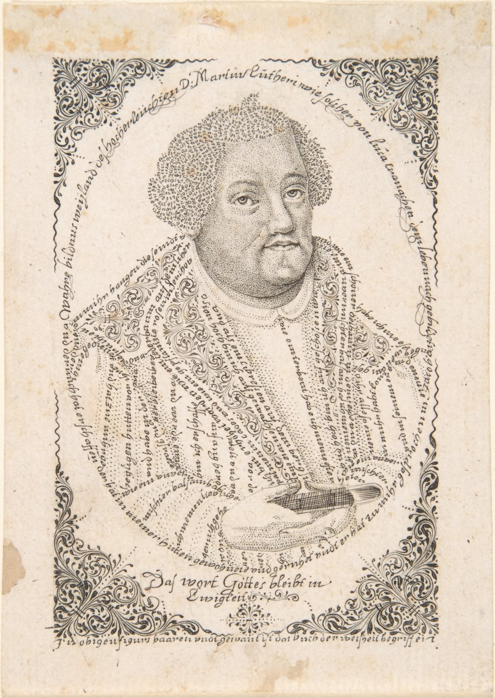 "Johann Michael Püchler, ""Portrait of Martin Luther"""