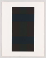 "Ad Reinhardt, ""#8 from the series 10 Screenprints by Ad Reinhardt"""