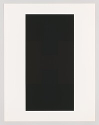 "Ad Reinhardt, ""#9 from the series 10 Screenprints by Ad Reinhardt"""