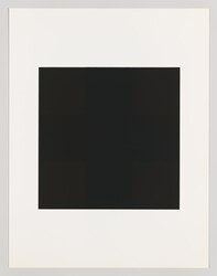 "Ad Reinhardt, ""#10 from the series 10 Screenprints by Ad Reinhardt"""