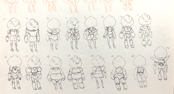 Designs for (unused) Peach Guardian