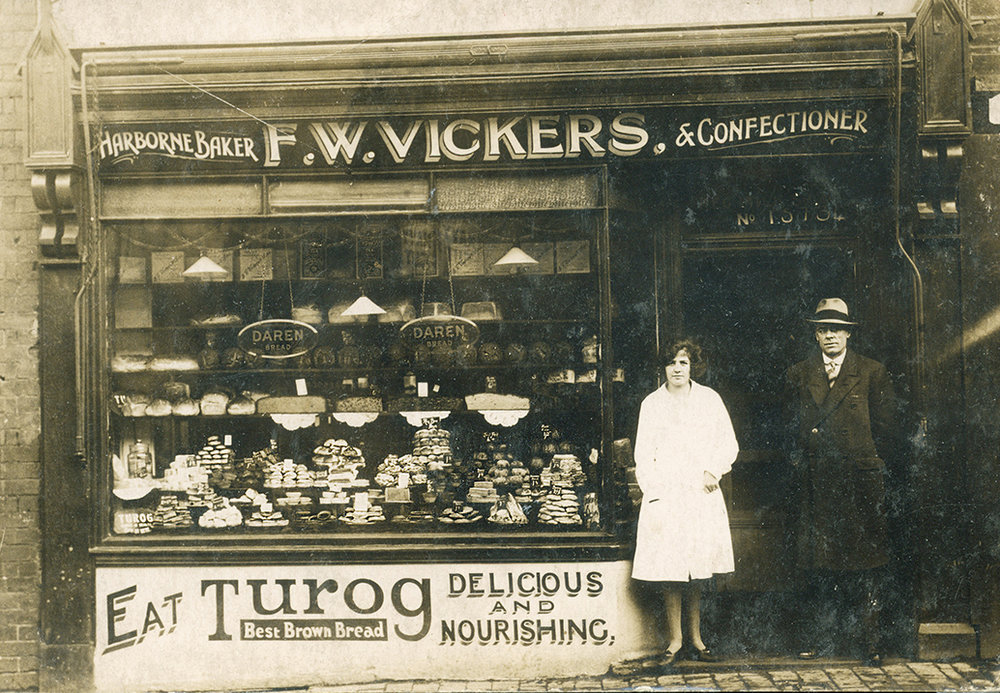 My great-grandfather's bakery in Birmingham