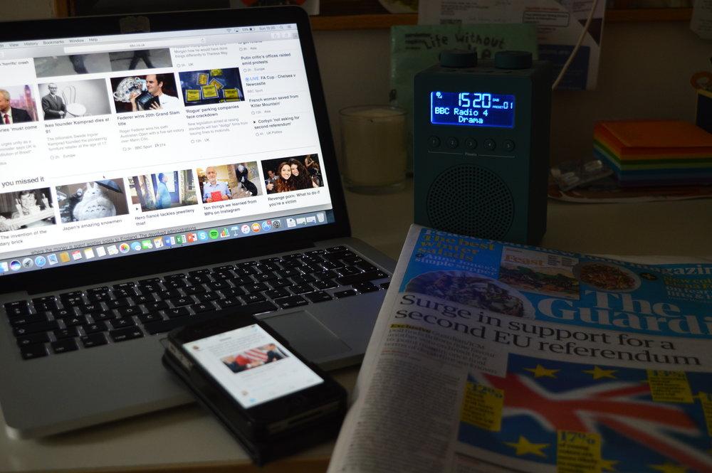 How do you get your news?