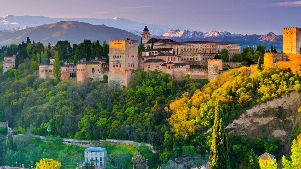 Granada Spain - 5th Mar 2019 BRIDGE HOLIDAY