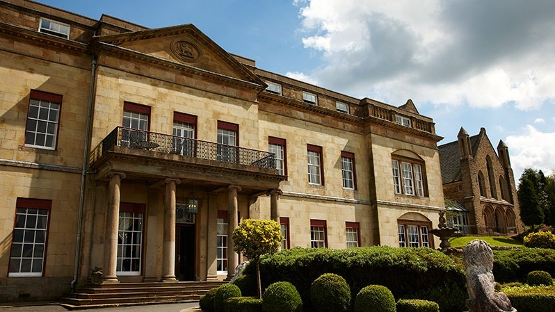 Shrigley Hall set in 262 acres