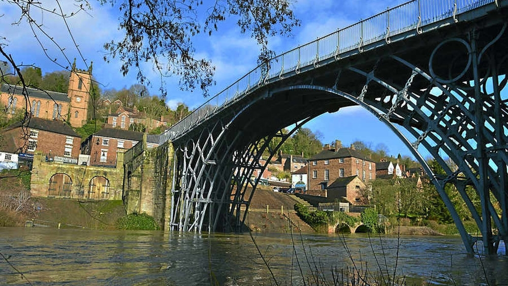 World's first cast  Iron Bridge