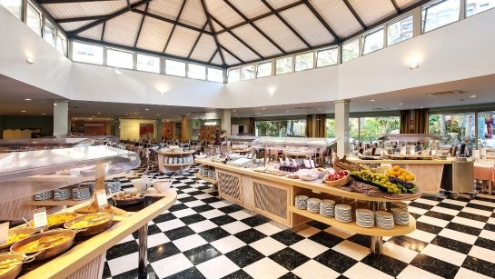 Buffet Restaurant Includes Wine & Water with Evening Meals
