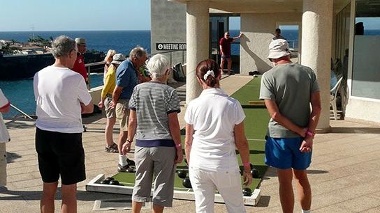 Playa La Arena - TENERIFE Short Mat Bowls