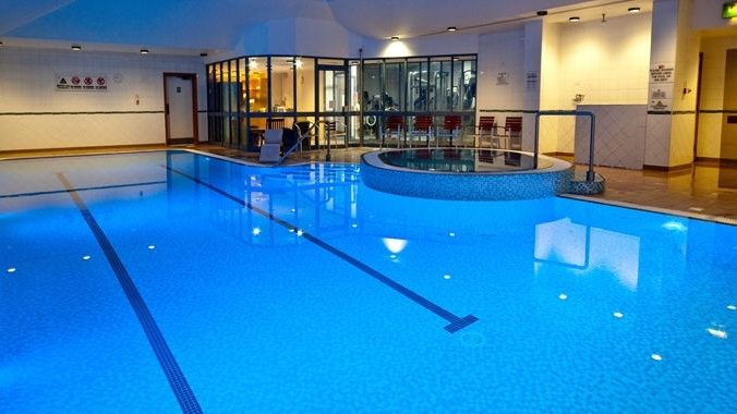 Hilton Hotel Indoor Pool