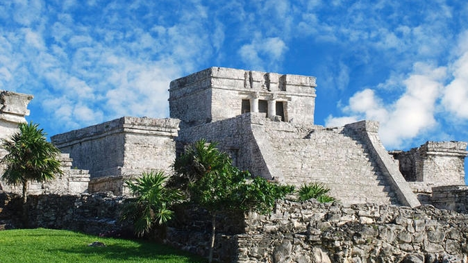 Tulum Ruins Cancun Mexico