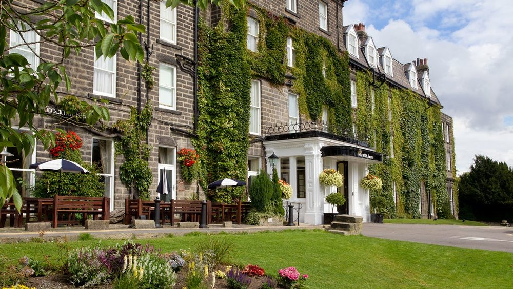 OLD Swan Hotel harrogate - 28th July 2019
