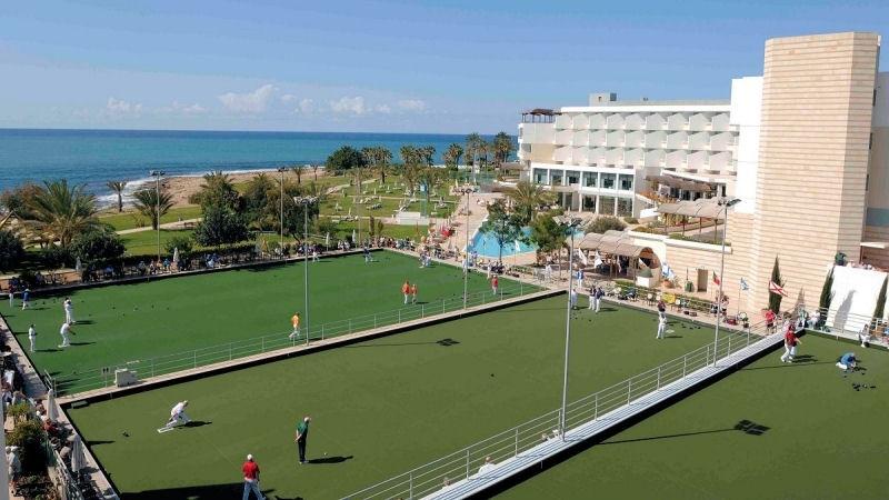 Athena Beach on site bowls facilities