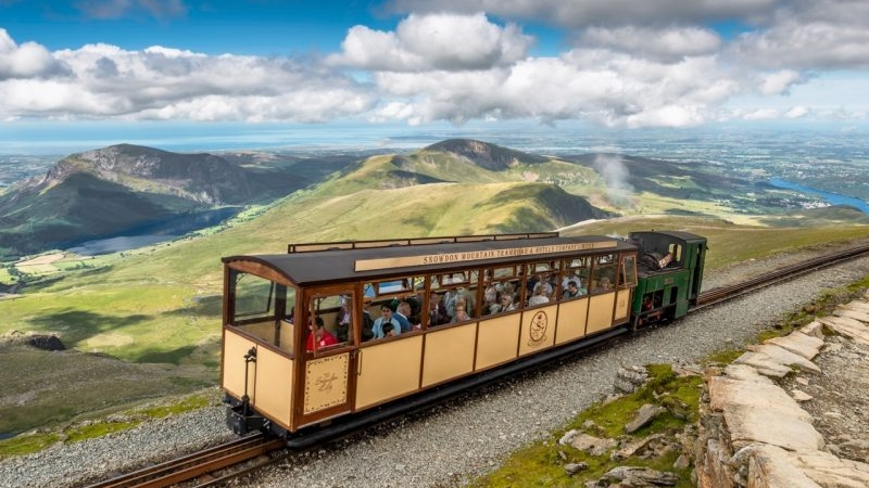 Steam Train Trip to the top of Mount Snowdon.