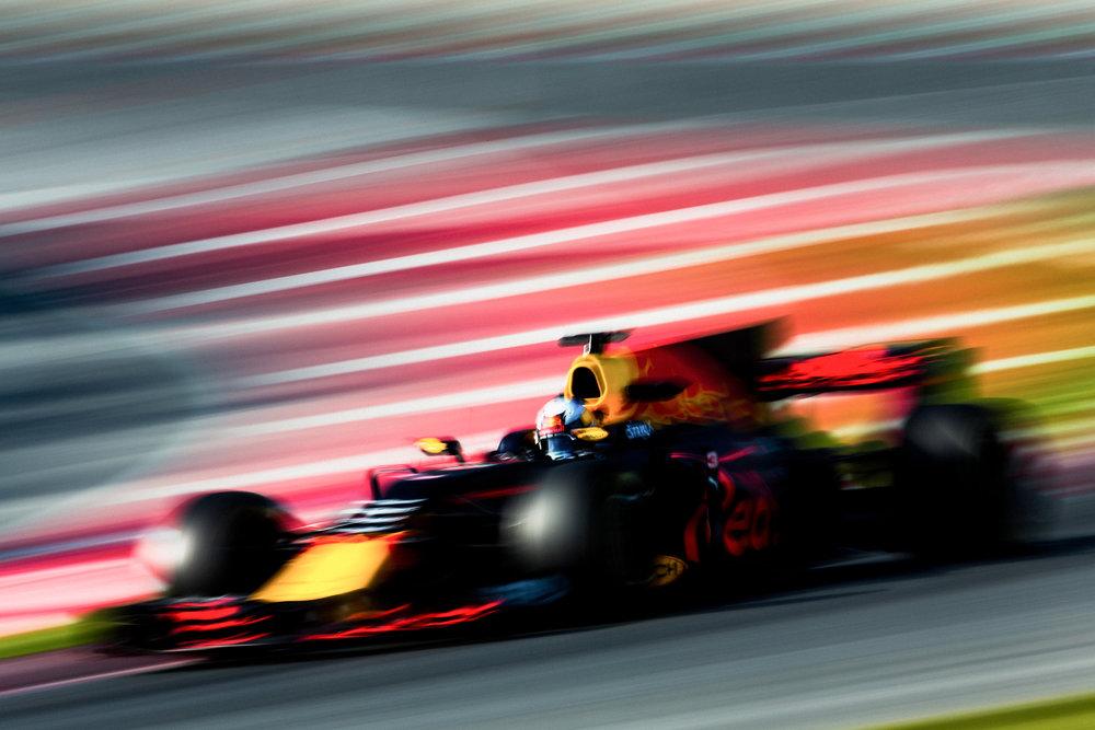 Daniel Ricciardo, Red Bull. 2017 FIA Formula 1 Championship, Barcelona, Spain.